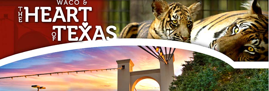 Waco and the Heart of Texas Website