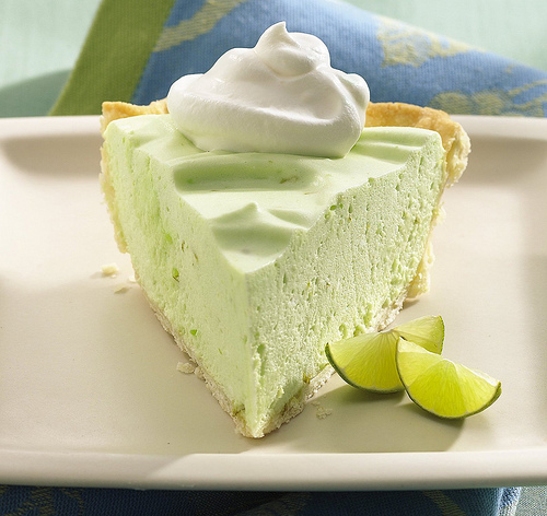 how to make a lime garnish for pie