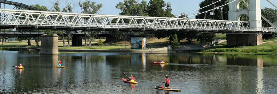 Brazos river paddling trails parks recreation city for Lake waco fishing report