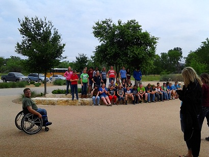 Waco Mammoth Site school group tour